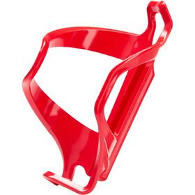 Lezyne Flow Cage E Gabbia di carico laterale Destro, rosso/bianco